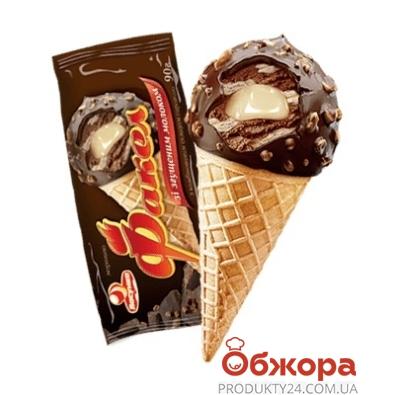 Мороженое шоколадное со сгущённым молоком Факел Ласунка 90 г – ИМ «Обжора»