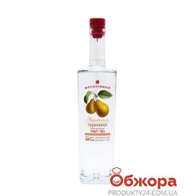 Напій міцний плодовий Bolgrad 0,5л 40% Грушовиця Українська – ІМ «Обжора»