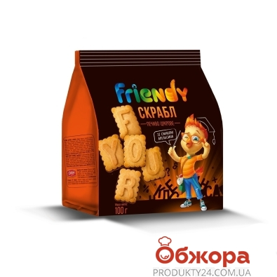 Печенье Френди 100 г скрабл – ИМ «Обжора»