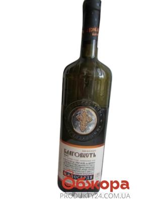 Вино Таїрове Благовiсть 0,7л бiле н/сол – ІМ «Обжора»