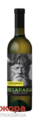 Вино белое сухое Besarabia Шардоне 0,75 л – ИМ «Обжора»