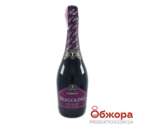Напиток винный красный полусладкий Таирово Fragolino 0,75 л – ИМ «Обжора»