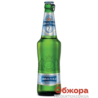 Пиво Балтика 0,5л N7 – ІМ «Обжора»