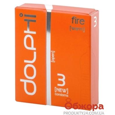 Презервативы DOLPHI LUX Fire 3 шт – ИМ «Обжора»