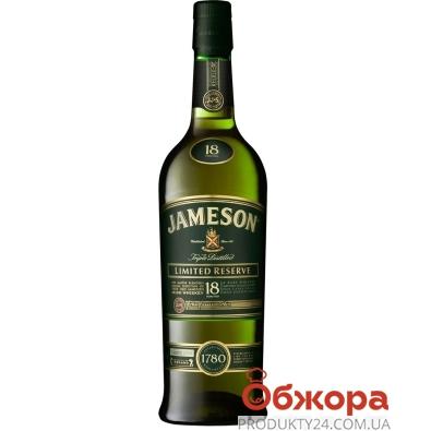 Віскі Джеймсон 18 рокiв 0,7л – ІМ «Обжора»