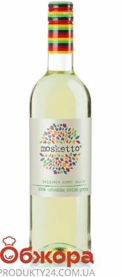 Вино белое полусладкое Mosketto Bianco 0,75 л – ИМ «Обжора»