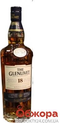 Віскі Glenlivet 18 рокiв 0,7л. – ІМ «Обжора»
