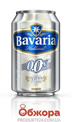 Пиво Баварія 0.33л ж/б б/а Пшеничне – ІМ «Обжора»