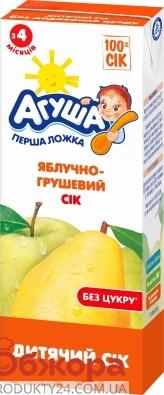 Сік Агуша 200г яблуко-груша – ІМ «Обжора»