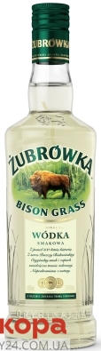 Горілка Zubrowka Bison Grass 500 мл 37,5% – ІМ «Обжора»