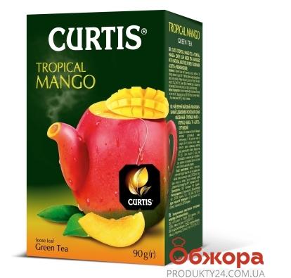 Чай Кертис, Mango green, 100 г – ИМ «Обжора»