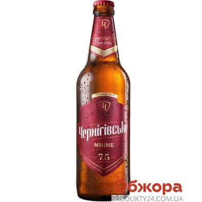 Пиво Черниговское крепкое 0.5 л – ИМ «Обжора»