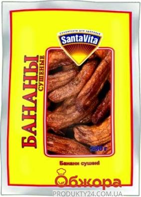 Бананы Сушеные, Санта Вита, 200 г – ИМ «Обжора»