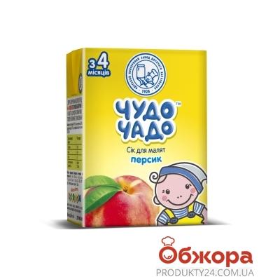 Сік Чудо-Чадо 200г персик з м`якоттю – ІМ «Обжора»
