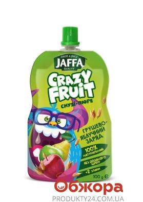 Смузи Джаффа Jaffa Crazy Fruit 0,1 л из груш и яблок со злаками – ИМ «Обжора»