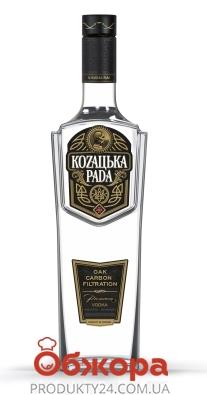 Горілка 40% Преміум Козацька рада 0,7 л – ІМ «Обжора»