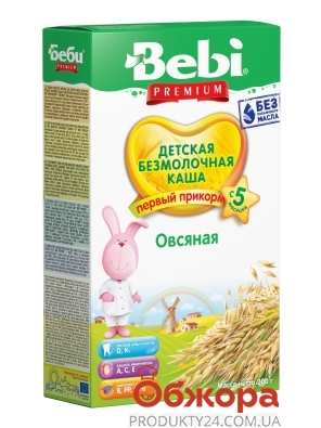 Каша Bebi Premium 200г Вівсяна б/м з 5 міс – ІМ «Обжора»
