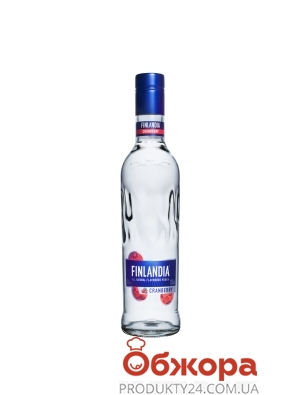 Водка Финляндия (Finlandia) 0.5 л клюква белая – ИМ «Обжора»