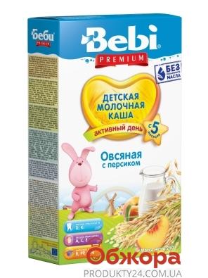 Каша Bebi Premium 250г Вівсяна мол. з персиком з 5 міс – ІМ «Обжора»