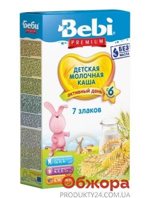 Каша Bebi Premium 200г мол. 7 злаків з 6 міс – ІМ «Обжора»