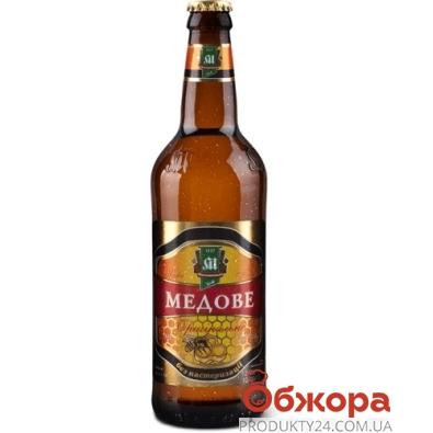 Пиво Микулин Медовое 15% 0,5 л – ИМ «Обжора»