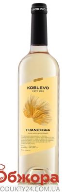 Вино белое полусладкое Коблево Сомелье Франческа 0,75 л – ИМ «Обжора»