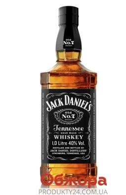 Віскі Jack Daniel`s Old No.7 1 л – ІМ «Обжора»