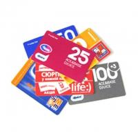Карточки пополнения и стартовые пакеты – интернет-магазин «Обжора»