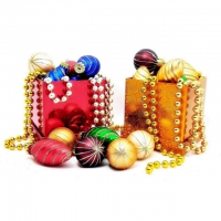 Новогодние игрушки и украшения – интернет-магазин «Обжора»